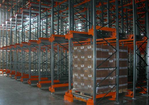 Сборка монтаж и демонтаж стеллажей на складе